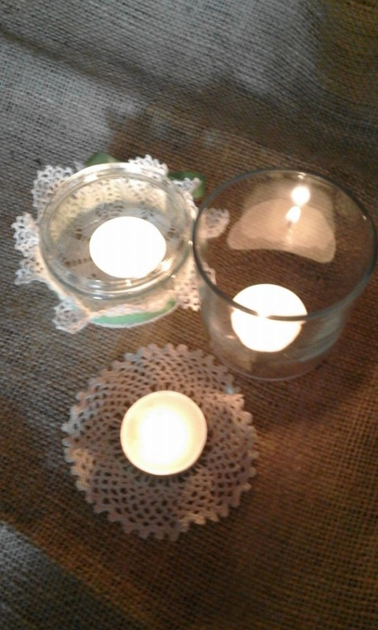 earth hour candles