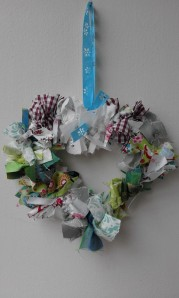 Country Cottage rag wreath